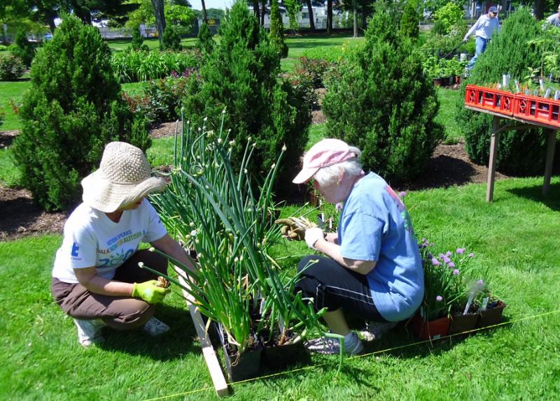 pag-gardenvolunteers3-plantsale-05-2012