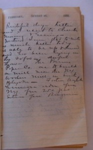 WCS February 26, 1888