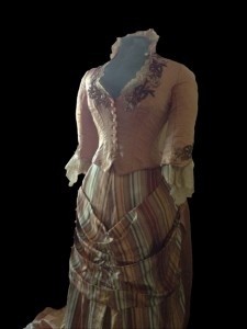 Read Dress on Display in Carriage House