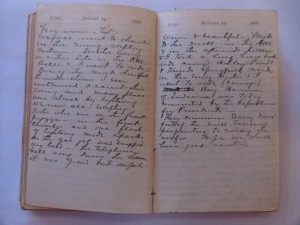 WCS Journal June, 24-25, 1888