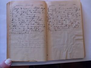 WCS Journal September 30-October 1, 1888