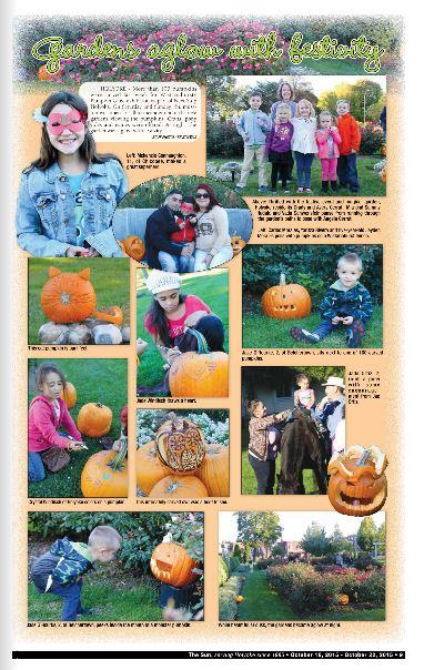 families and jack-o-lanterns