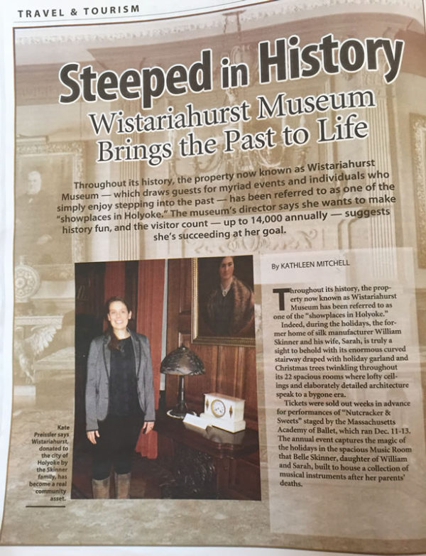 """Businesswest article """"steeped in history"""""""