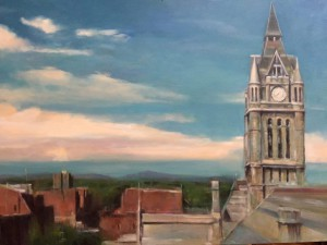 a view of City Hall by Deb Dunphy