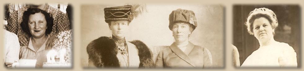 Anna Sullivan, Belle and Katherine Skinner, Elizabeth Towne
