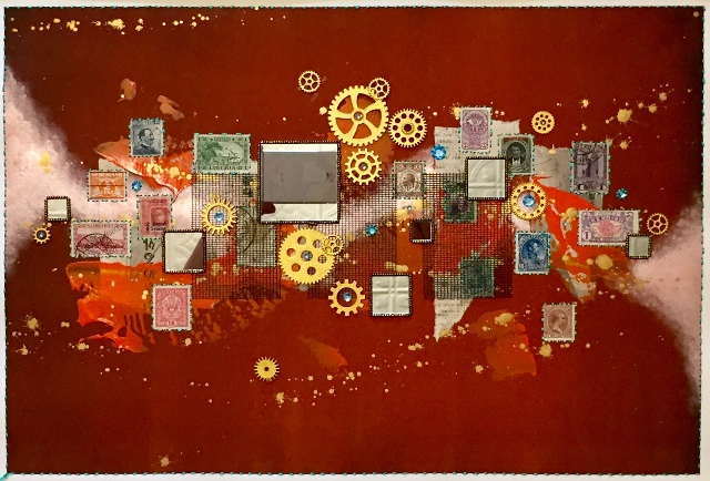 Journeys: Our Song In Rust By Steven Huerta $150.00