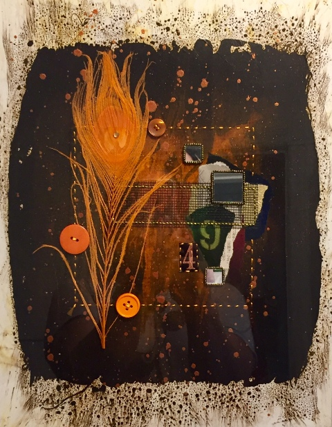 Orange Pulse-Daddy's Mix: Healing By Steven Huerta $150.00