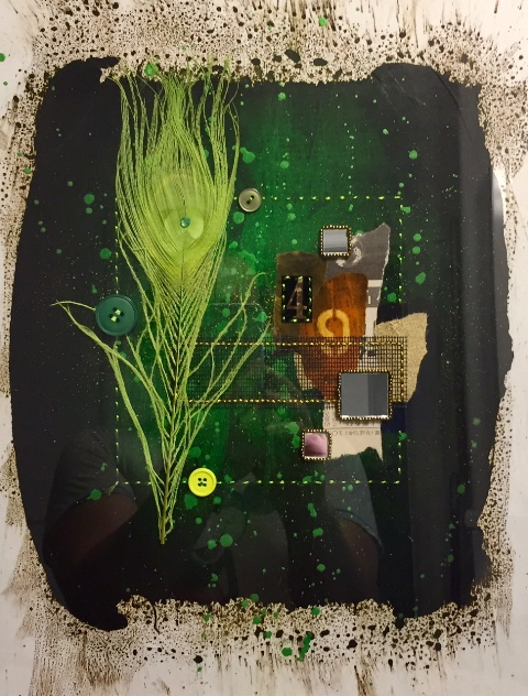 SOLD Green Pulse-Daddy's Mix: The Wildby Steven Huerta$150.00