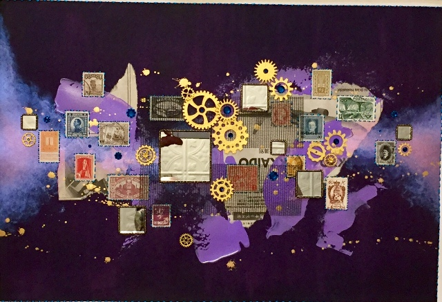 Journeys: Our Song In Violet By Steven Huerta $150.00