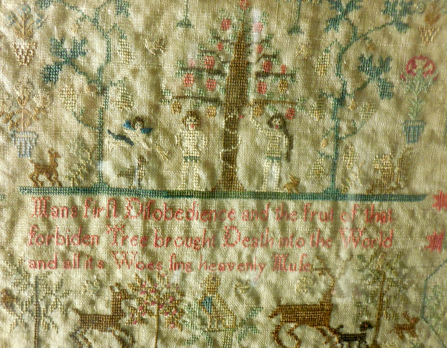 Opening Reception for Stitch By Stitch: Needlework from the Wistariahurst Collection