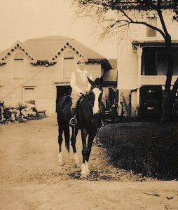 Dr. Starbuck on Horseback