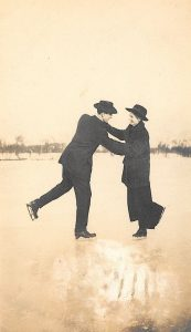 Mabel Stevens Ice Skating