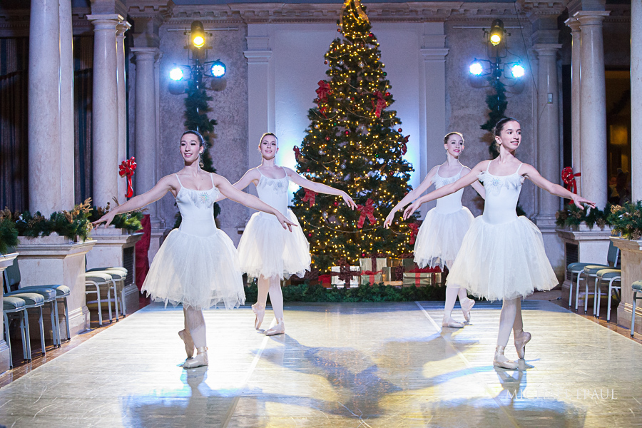 Dancers Performing Nutcracker
