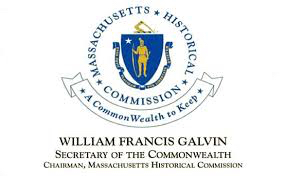 The Seal Of Massachusetts Surrounded By The Words