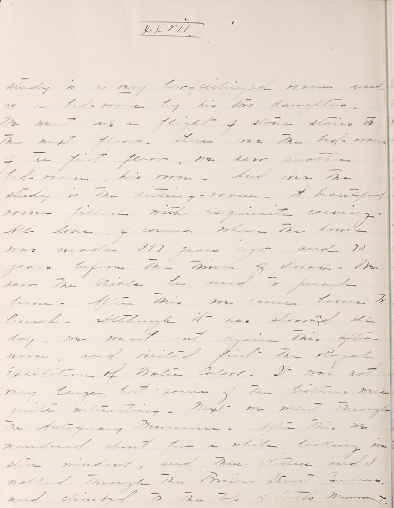 Belle Skinner 1887 Journal 08-18-1887 XXVII