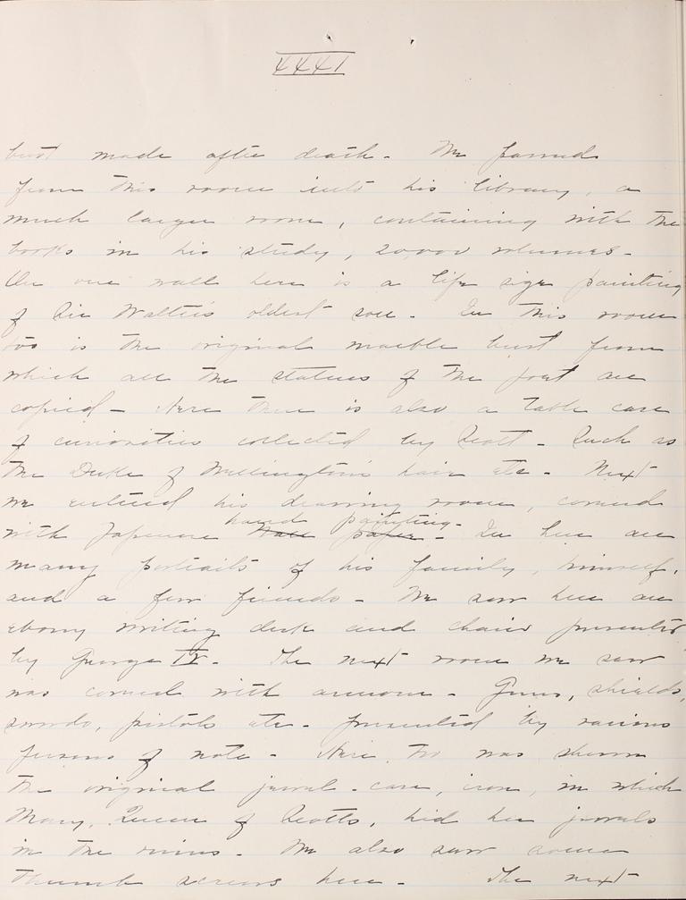 Belle Skinner 1887 Journal 08-20-1887 XXXI