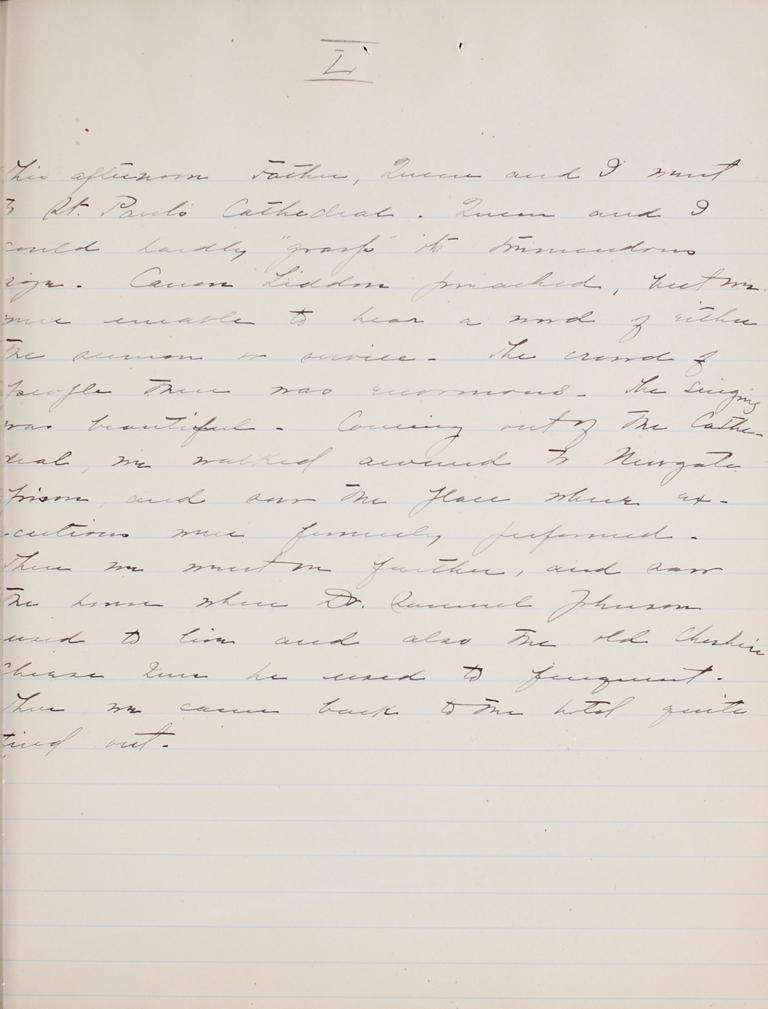 Belle Skinner 1887 Journal 08-28-1887b L