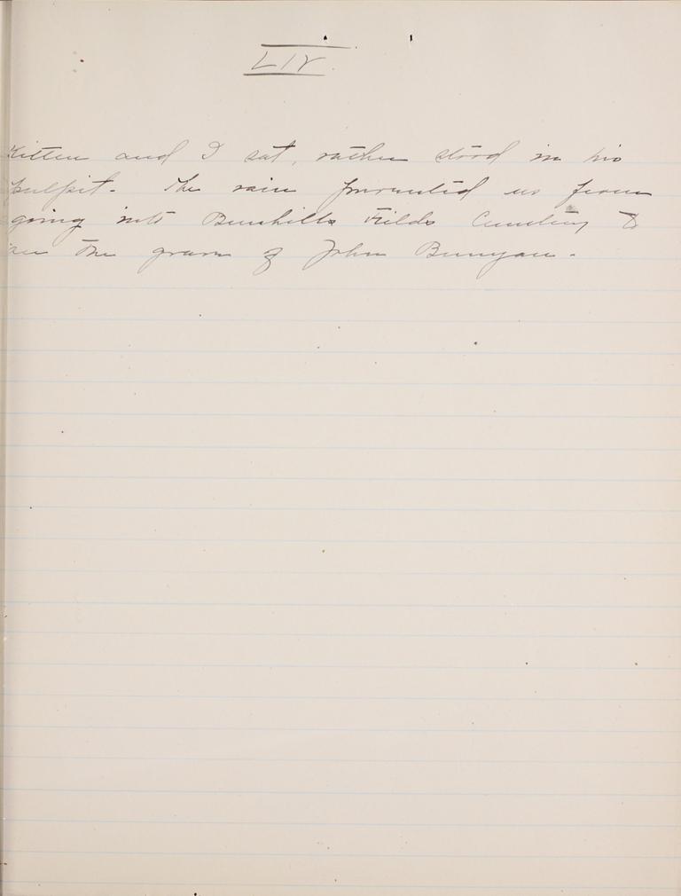 Belle Skinner 1887 Journal 08-31-1887 LIV