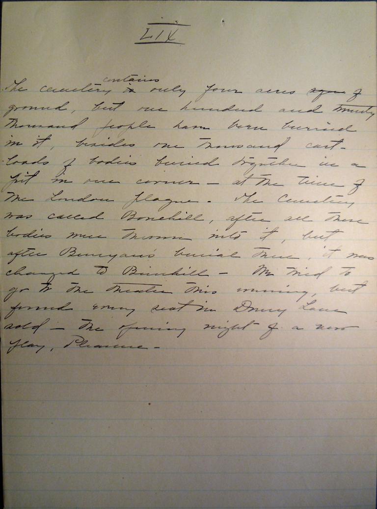 Belle Skinner 1887 Journal 09-03-1887b LIX
