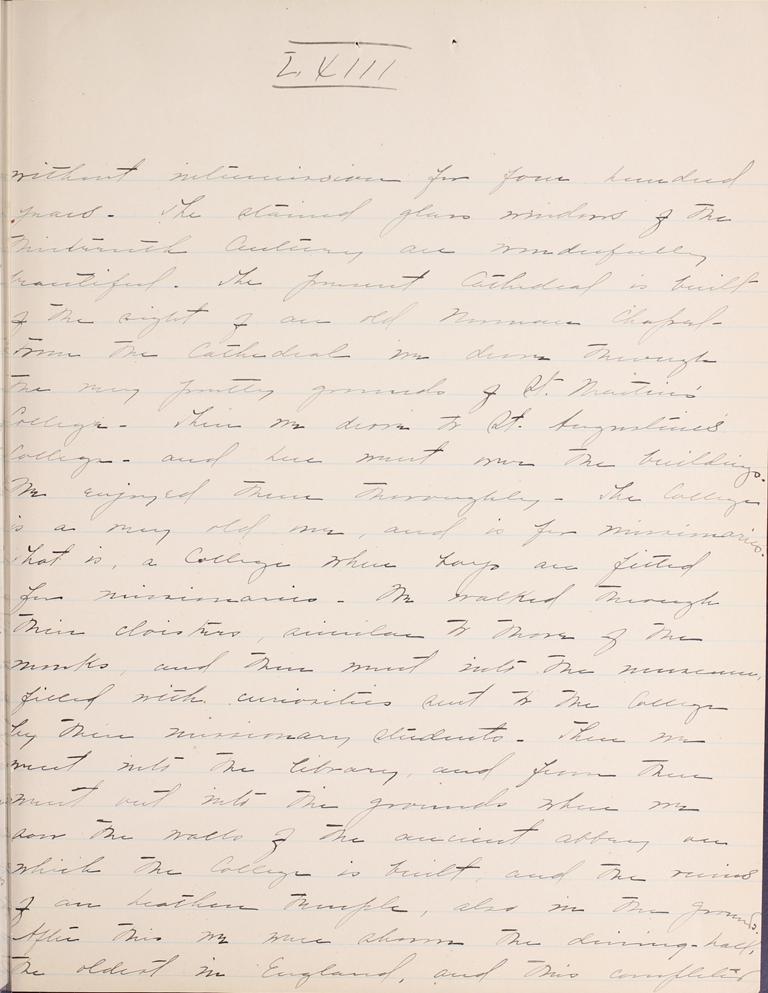 Belle Skinner 1887 Journal 09-06-1887b LXIII