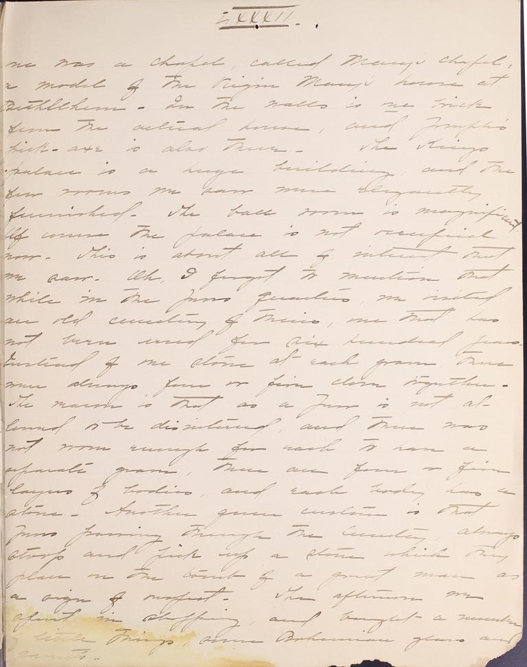 Belle Skinner 1887 Journal 09-21-1887b LXXXII