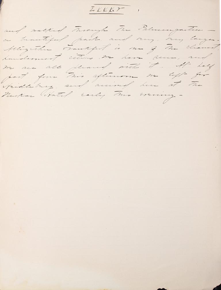 Belle Skinner 1887 Journal 09-23-1887b LXXXV