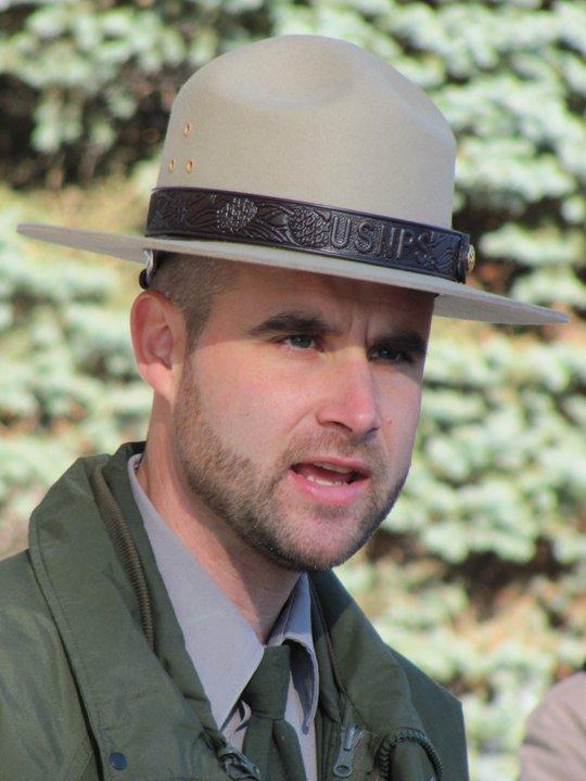 National Park Ranger Keven Oldenburg