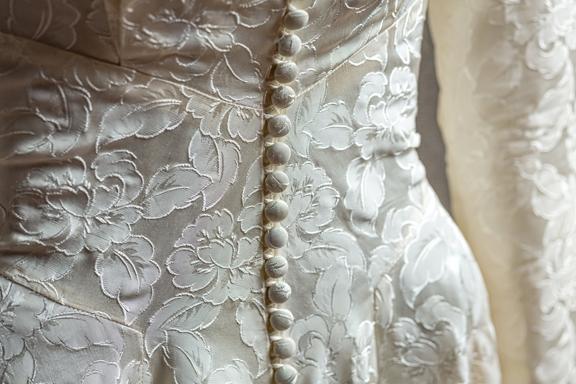 Jacquard Wedding Gown